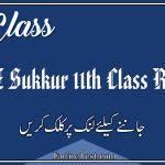 BISE Sukkur 11th Class Result 2021 - FSC, ICOM, ICS, FA