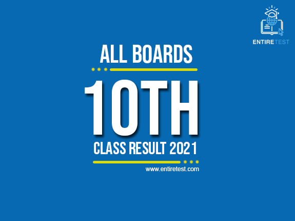 10th Class Result 2021 – All Pakistan Boards – Matric Result