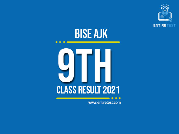 BISE AJK 9th Class Result 2021 – SSC Part 1 Result  – Check Online
