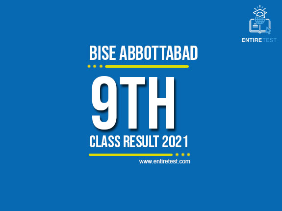 BISE Abbottabad 9th Class Result 2021 – SSC Part 1 Result – Check Online