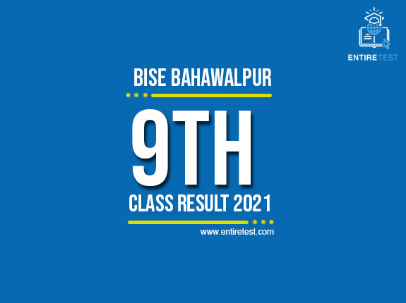 BISE Bahawalpur 9th Class Result 2021 – SSC Part 1 Result – Check Online