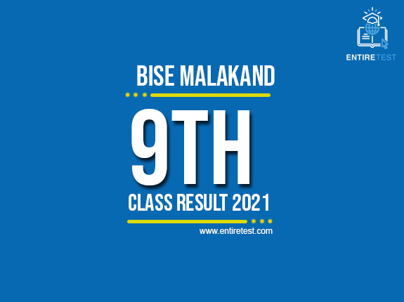 BISE Malakand 9th Class Result 2021 – SSC Part 1 Result – Check Online