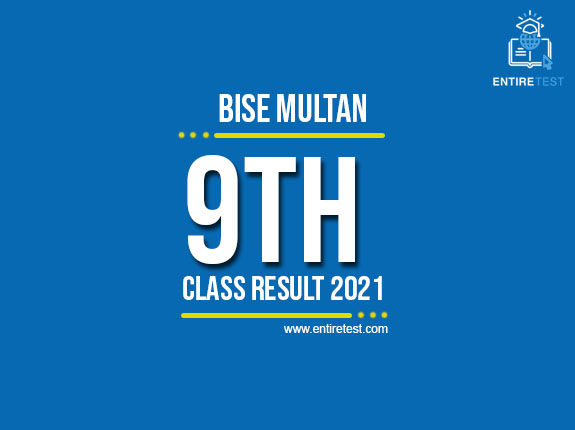 BISE Multan 9th Class Result 2021 – SSC Part 1 Result – Check Online