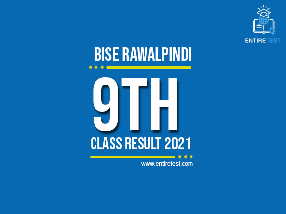 BISE Rawalpindi 9th Class Result 2021 – SSC Part 1 Result – Check Online