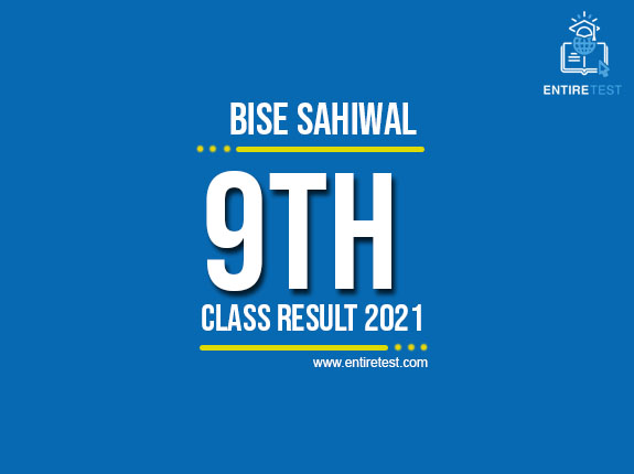 BISE Sahiwal 9th Class Result 2021 – SSC Part 1 Result – Check Online