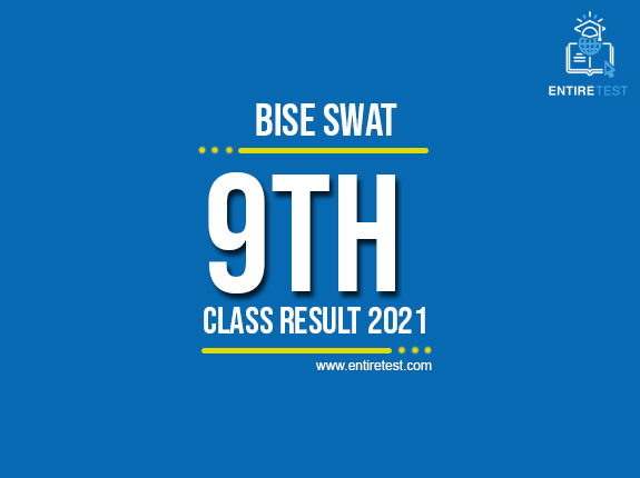 BISE Swat 9th Class Result 2021 – SSC Part 1 Result  – Check Online